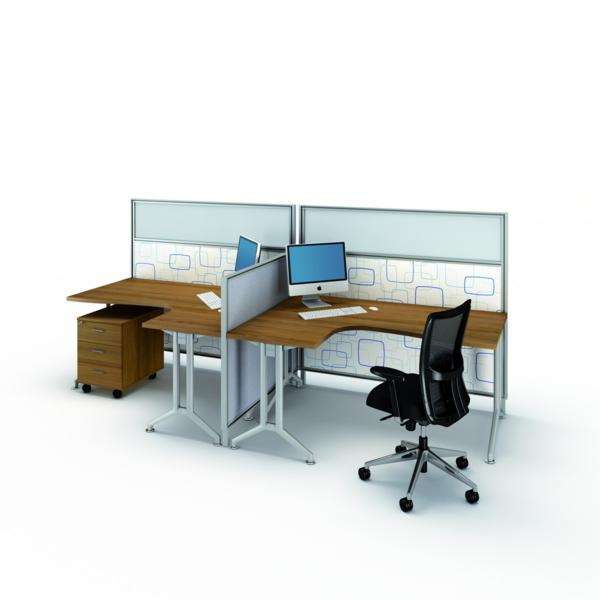 Mobilier bureau open space 28 images bureau open space for Mobilier bureau 4 personnes