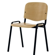 Chaise empilable en bois Claudia - 2