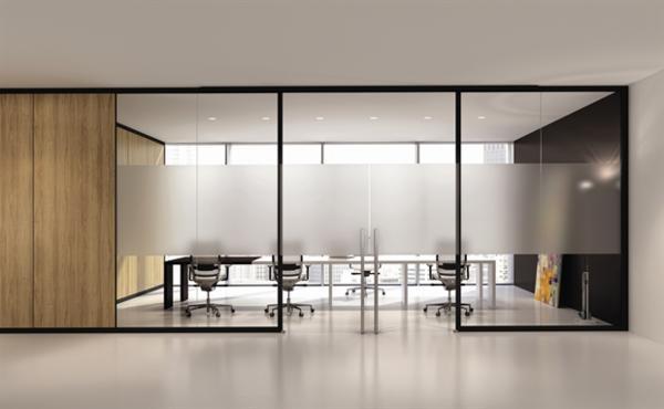 cloisons vitr es. Black Bedroom Furniture Sets. Home Design Ideas