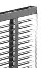 Store vénitien aluminium - Système Classic (lames de 50 mm)