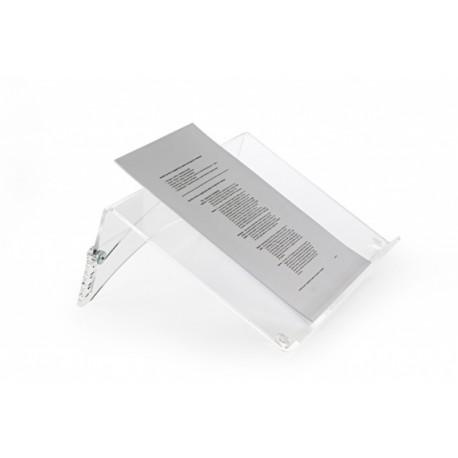 FlexDoc Cristal Clear - Porte-documents compact transparent