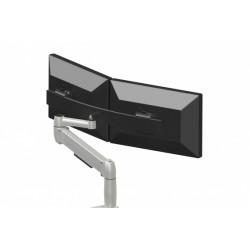 Bras pour écran Space Arm Beam Dual - Vérin à gaz - Etau