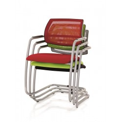 Fauteuil empilable Barclay
