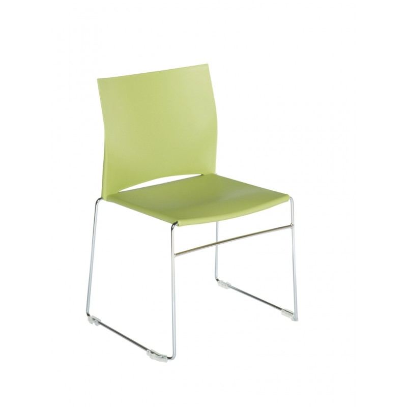 Chaise plastique empilable for Chaises empilables