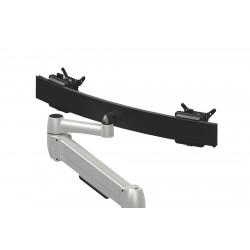 Bras pour 2 écrans Space-arm Beam Dual