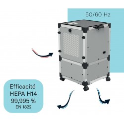Filtre à air 2 pour purificateur d'air professionnel