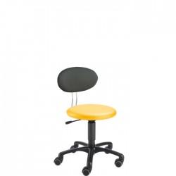 Siège TWIST KIGA - Base de 50 cm, vérin réglable de 34 à 44 cm - Siège ergonomique pour la petite enfance