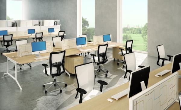 bench conception d 39 espaces de travail et mobilier de bureau ergonomie du poste de travail. Black Bedroom Furniture Sets. Home Design Ideas