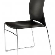 Chaise plastique empilable Jill - 1