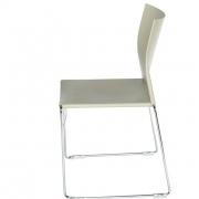 Chaise plastique empilable Jill - 2