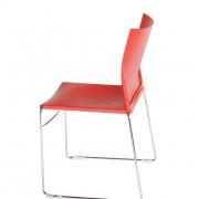 Chaise plastique empilable Jill - 3