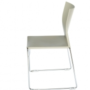 Chaise plastique empilable Jill - 2