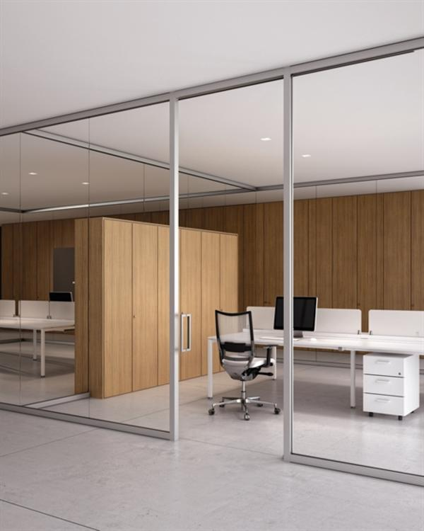 Cloisons design conception d 39 espaces de travail et for Fourniture de bureau grenoble