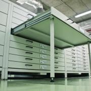 Meubles de stockage pour fonds de musées
