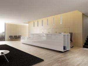 Aménagement d'espaces d'accueil