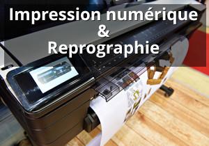 Impression numérique et reprographie