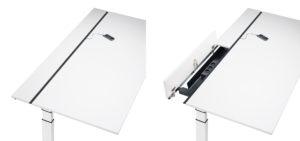 Bureau personnalisable, règlable en hauteur et ergonomique - Sedus Temptation C