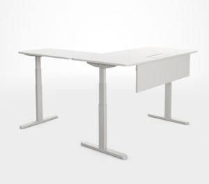Bureaux ergonomiques Skala réglables - Utilisation individuelle
