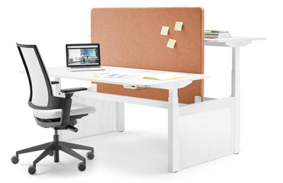 Bureau ergonomique Skala - Travail en équipe