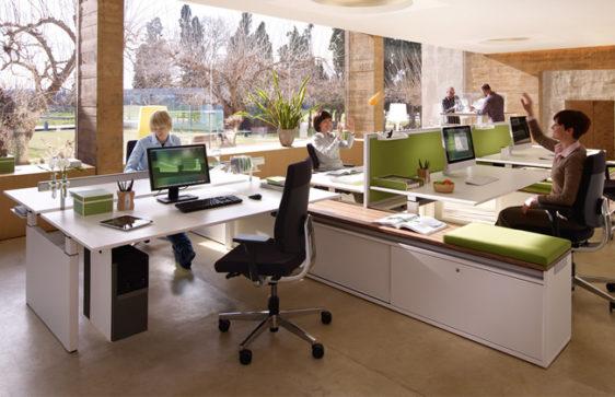 Bureau règlable en hauteur et ergonomique - Sedus Temptation Twin