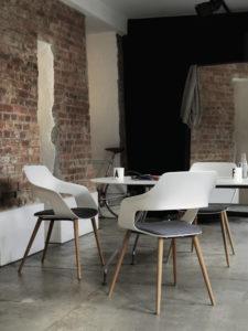 Chaise espace café restauration détente