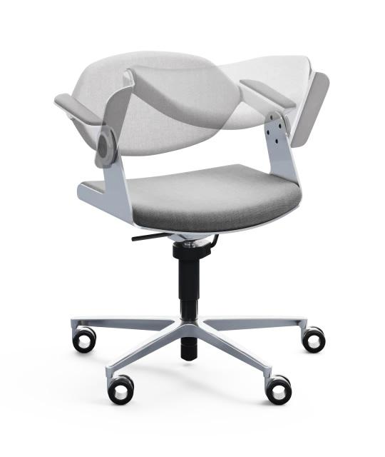 K+N Balance Chair : un siège de bureau pivotant - Design et ergonomique