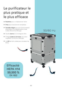 Purificateur d'air professionnel
